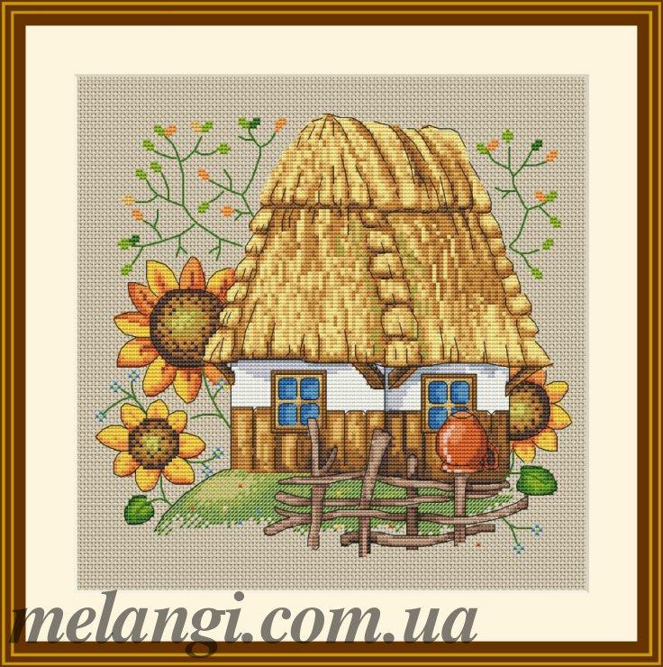 Вышивка украинская тема